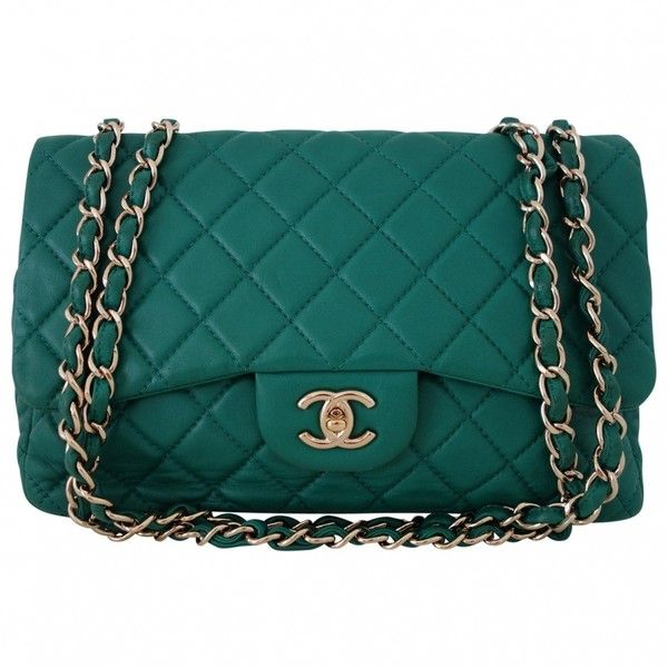 GREEN CHANEL HANDBAG Not A Replica